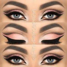 cut crease makeup Mais