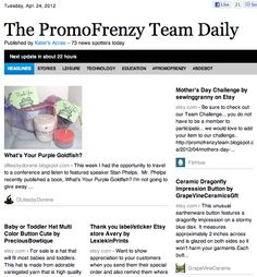 The PromoFrenzy Team Daily, Online Newspaper