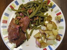 I love me some ham steak and this is the bestest way to cook it. I promise, try it, and you will love it! Plus, it really doesn't get ea...