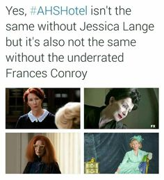 Funny Stories, Horror Stories, American Horror Story Funny, Frances Conroy, Tate And Violet, Ahs Hotel, Dark Jokes, House Plans One Story, Best Horrors
