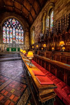 Church Lamps - St Asaph Cathedral - Denbigshire - England