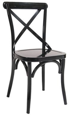 24 50 Metal Patio Stack Chair With Punched Square Hole