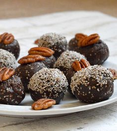 Chocolate energy balls use only a few ingredients, take little prep work, and are easy to take on the run—making them the perfect snack.