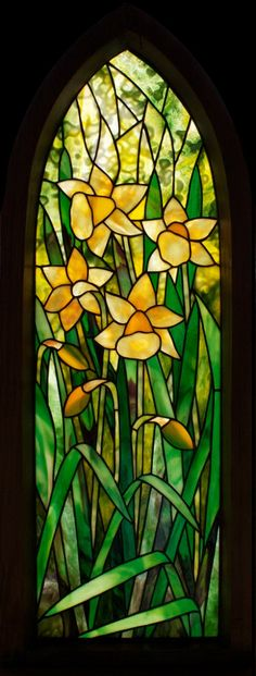 Daffodil Framed Panel