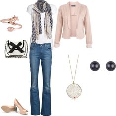 Pretty in Pink, created by dontevenblink.polyvore.com