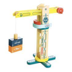 Magnetic Wooden Docker Crane-product