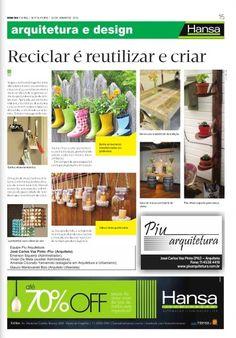 96° Jornal Bom Dia - Reciclar é reutilizar e criar -  28-06-13