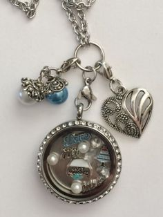 Wedding Day Mr & Mrs Inspired Memory Locket Necklace