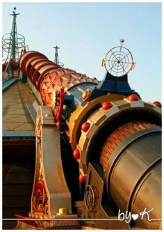 Space Mountain, it goes upside down and feels like you are going to fall out of your seat! I love that ride!