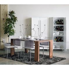 16 best cb2 blox table images dining tables kitchen dining tables rh pinterest com