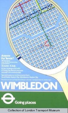 Wimbledon Tennis 1981 _______________________________ London Transport