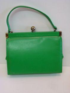 Etsy kelly green purse