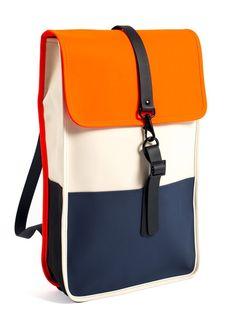 Rains Rains Backpack Sand Orange