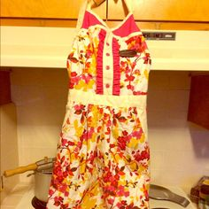 A cute dress but wait it's an APRON!! Adorable apron none you've ever seen. Look chi & modern in the kitchen! Cynthia Rowley Other