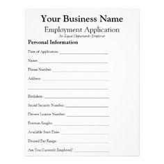 FreePrintableJobApplicationFormsPdf