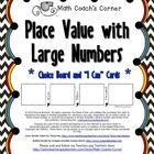 Description Do your kiddos struggle with reading and comparing larger numbers?  Grab this freebie to read more and learn a fool-proof method for he...