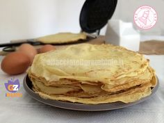 CREPES RICETTA BASE E DUKAN Light Recipes, Clean Recipes, Healthy Recipes, Nutella Cookies, Dukan Diet, Fitness Nutrition, Vegan Gluten Free, Street Food, Finger Foods