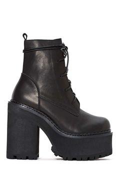 UNIF Choke Leather Boot