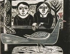 Samico, João, maria e o pavão azul (1960)