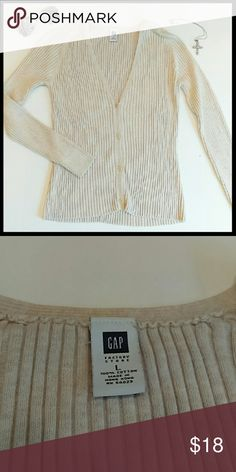 **Gap cardigan sweater** In perfect condition. Great for winter. Super soft material. From a smoke and pet free home. I ship fast! GAP Sweaters Cardigans