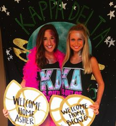 Kappa Delta at Kennesaw State's Out of this World Bid Day 2015 #kdksu