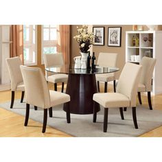 Dining Table Set Bay Side I Collection CM3311T