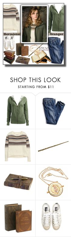 """""""""""It's sort of exciting, isn't it, breaking the rules"""" ;) <3 Hermione Granger"""" by asiyaoves ❤ liked on Polyvore featuring Wet Seal, Victoria's Secret, H&M, Gump's and Golden Goose"""