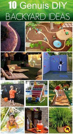 10 Genius DIY Backyard Ideas @jfishkind