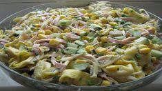 cestovinovysal Tortellini Salad, Pasta Salad, European Dishes, Cooking Recipes, Healthy Recipes, Side Salad, Easy Chicken Recipes, Salad Recipes, Recipes
