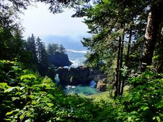 Between Brookings and Gold Beach, OR