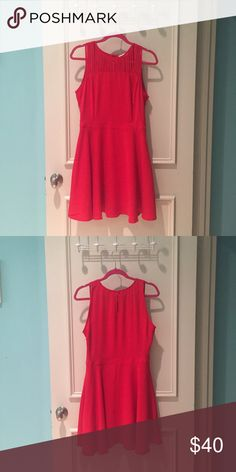 Red strappy skater dress Need a red dress? This one is PERFECT for you!! Great for date night, girls night out or a night out on the town! Dresses Midi