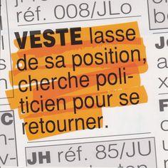 "Carte postale expression humoristique : ""Retourner sa veste"" !"