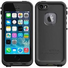 LifeProof Apple iPhone 5 / 5S Waterproof Case - Black / Black