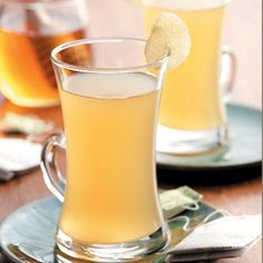 Ginger Tea Drink. Perfect for when you're feeling a little under the weather. Don't get SAD!