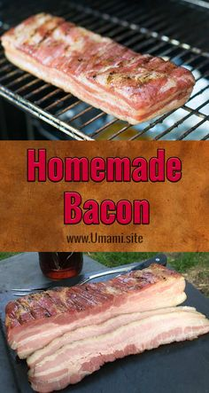 Making homemade bacon is a lot easier than it sounds. All you need is some pork belly and a little time to create thick, juicy, delicious, bacon.