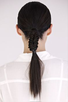 Braids, braids, braids! Keep those pesky plaits in place with Rahua Hair Wax!
