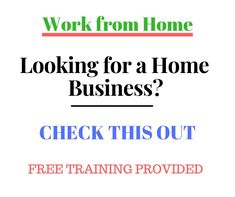 Work from home and build a recurring income. Many opportunities to earn. We have products, games, auctions, client rewards. Free training.