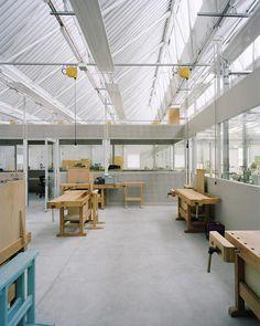 Durisch + Nolli - Berufsbildungszentrum SSIC, Gordola 2010
