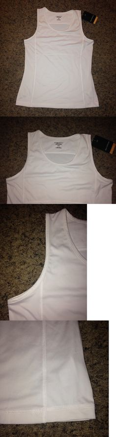 Tops and Blouses 53159: Md New Exofficio Women S Wanderlux Tank Sleeveless Tee Shirt White Travel Top -> BUY IT NOW ONLY: $34.99 on eBay!