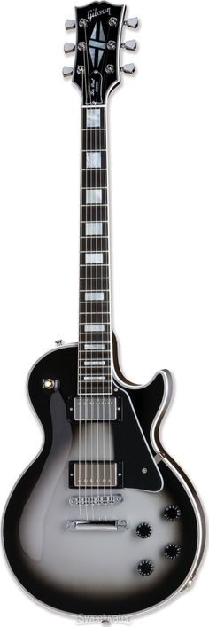 Gibson Les Paul Custom Silverburst-- I saw this at guitar center and fell in love but it's too expensive