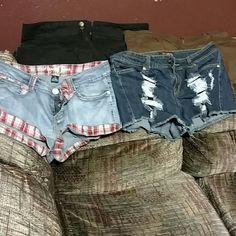 Ladies shorts 4 pairs of ladies shorts none  Shorts Jean Shorts