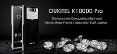 OUKITEL K10000 Pro In 'Cool' & 'Crazy' Product, Factory Test Videos #Android #Google #news