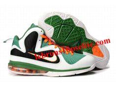 New Nike Zoom LeBron 9(IX) Shoes Green White Black Nike Zoom e268a912e7cc