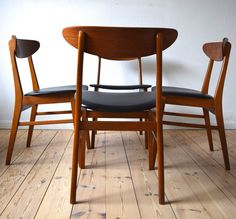 Danish Mid-Century Farstrup #210 Dining Chairs in Antiques, Antique Furniture, Chairs | eBay