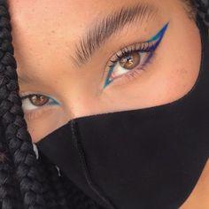 Cute Makeup Looks, Makeup Eye Looks, Pretty Makeup, Mask Makeup, Eye Makeup Art, Skin Makeup, Eyeshadow Makeup, Eye Makeup Designs, Edgy Makeup