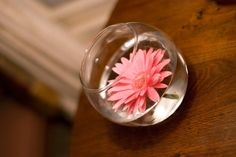 Fishbowls for extra flower decorations
