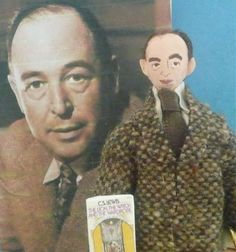 Who wants a Justin the Beaver doll? All the cool kids have C. S. Lewis. // AHHHGH!  So freaky, it's funny. X)