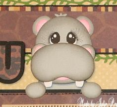 Precious Memories by Julie: Wild About You Baby Scrapbook Pages, Scrapbook Layouts, Scrapbooking, Punch Art, Zoo Animals, Cute Crafts, Paper Piecing, Baby Items, 3 D