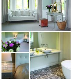 The beautiful bridal suite at Chippenham Park