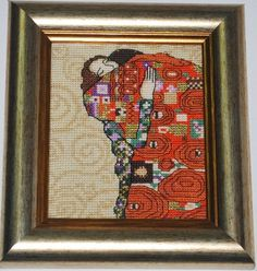 ♥Meus Gráficos De Ponto Cruz♥: Amantes em Ponto Cruz (Gustav Klimt 1)